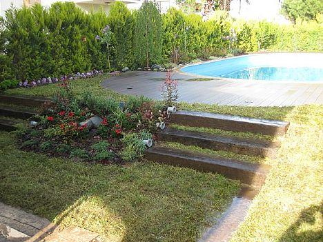 Punica Peyzaj - Değiştirdiğimiz Bahçeler:Burhaniye'de bir villa